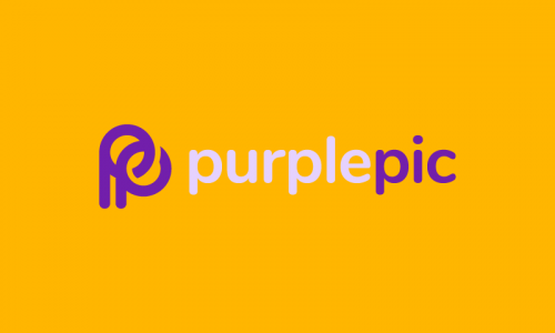 Purplepic - Photography startup name for sale