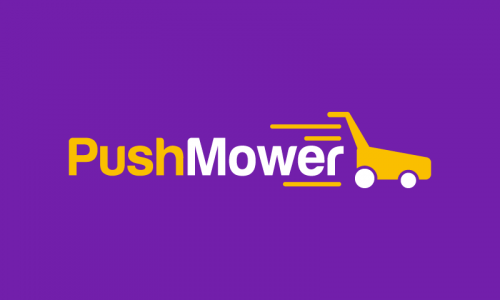 Pushmower - E-commerce product name for sale