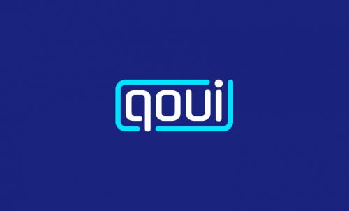 Qoui - Brandable brand name for sale