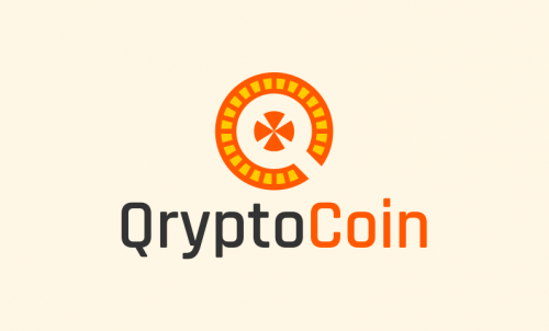 Qryptocoin - Cryptocurrency company name for sale