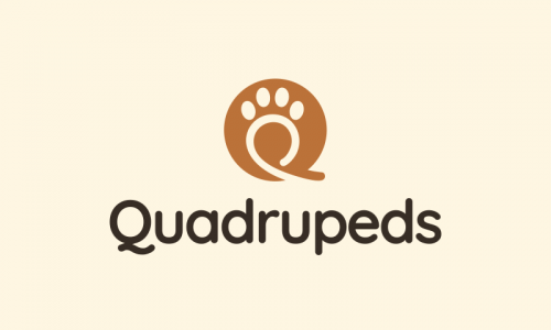 Quadrupeds - Retail startup name for sale