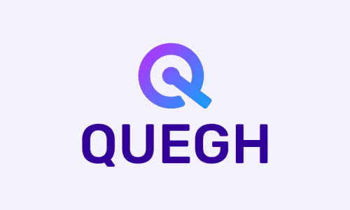 Quegh - Finance startup name for sale