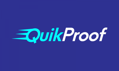 Quikproof - Retail product name for sale