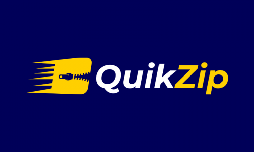 Quikzip - Business brand name for sale