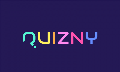 Quizny - Online games startup name for sale