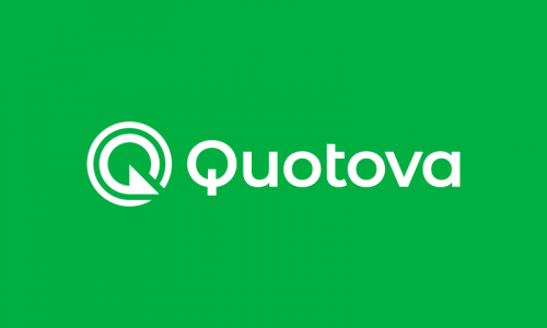 Quotova - Modern brand name for sale