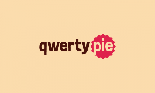 Qwertypie - E-commerce business name for sale