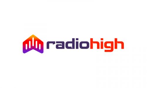 Radiohigh - Audio company name for sale