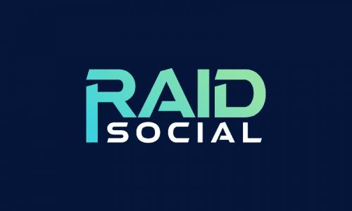 Raidsocial - Social networks company name for sale