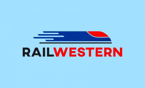 Railwestern - Railway company name for sale