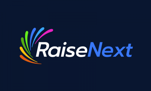 Raisenext - Fundraising company name for sale