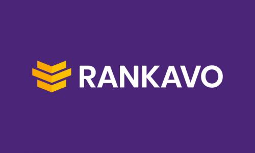 Rankavo - Marketing startup name for sale