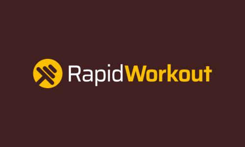 Rapidworkout - E-commerce company name for sale