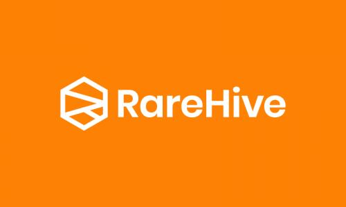 Rarehive - E-commerce brand name for sale