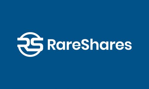 Rareshares - Fundraising company name for sale