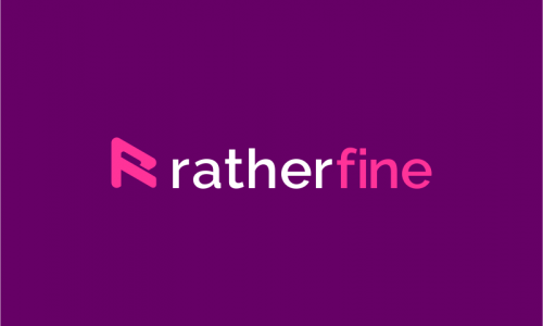 Ratherfine - Marketing domain name for sale