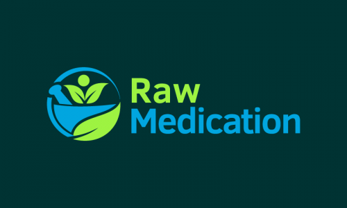 Rawmedication - Health company name for sale