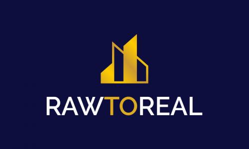 Rawtoreal - Real estate brand name for sale