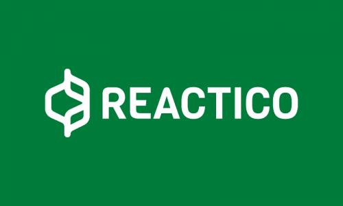 Reactico - Social brand name for sale