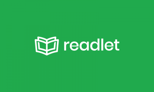 Readlet - Writing startup name for sale