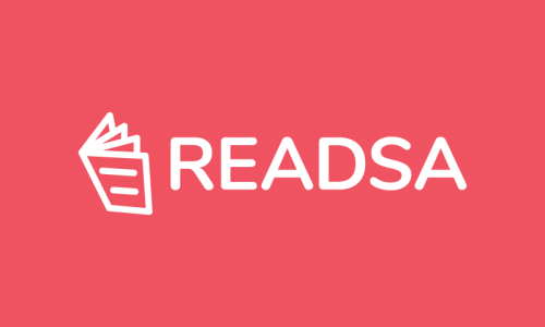 Readsa - Writing domain name for sale
