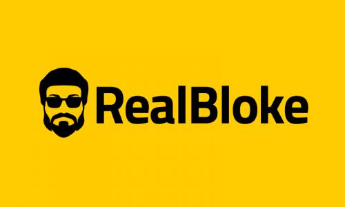 Realbloke - Retail domain name for sale