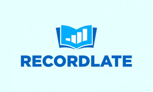 Recordlate - Business startup name for sale
