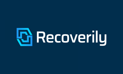 Recoverily - Health startup name for sale