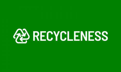 Recycleness - Environmentally-friendly brand name for sale