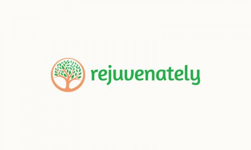 Rejuvenately - Healthcare company name for sale