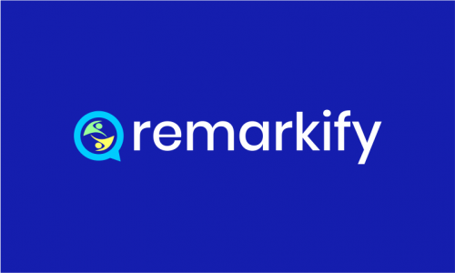 Remarkify - Marketing brand name for sale