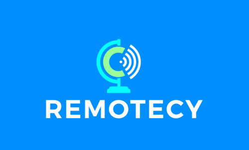 Remotecy - Remote working company name for sale