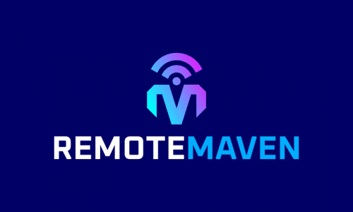 Remotemaven - Remote working business name for sale