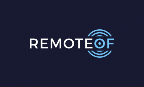 Remoteof - AI business name for sale