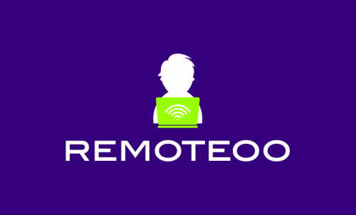 Remoteoo - Remote working brand name for sale