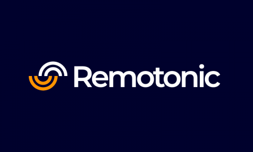 Remotonic - Remote working startup name for sale