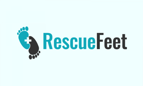 Rescuefeet - Health domain name for sale