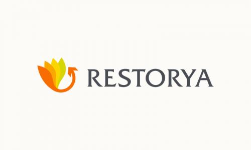 Restorya - Retail brand name for sale