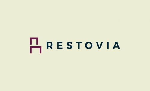 Restovia - Fundraising company name for sale