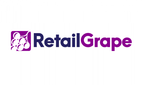 Retailgrape - Playful startup name for sale