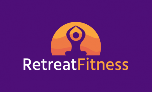 Retreatfitness - Fitness company name for sale