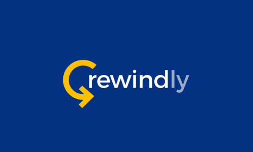 Rewindly - Playful product name for sale