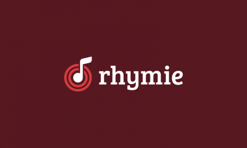 Rhymie - Music startup name for sale