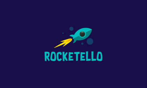 Rocketello - Friendly brand name for sale