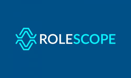Rolescope - Recruitment brand name for sale