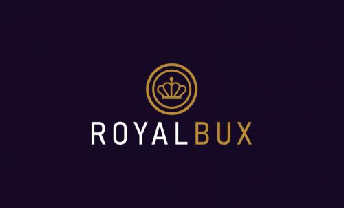 Royalbux - Finance startup name for sale