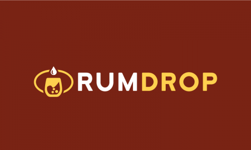 Rumdrop - Drinks company name for sale
