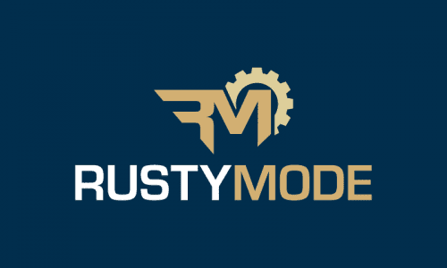 Rustymode - Playful startup name for sale