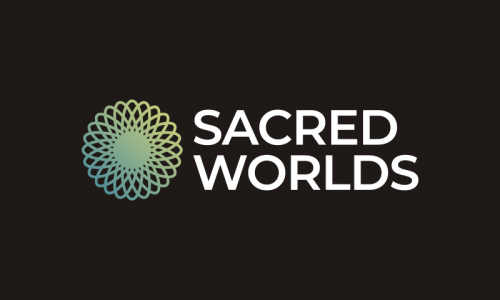 Sacredworlds - E-commerce startup name for sale