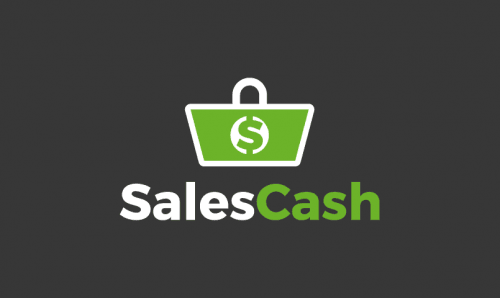 Salescash - Sales promotion domain name for sale